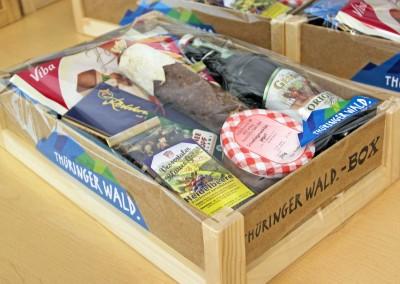 Vermarktung regionaler Produkte / Dachmarke Thüringer Wald
