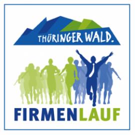 Teilnehmer beim Start des Thüringer Wald Firmenlaufs in Oberhof, ein Event des Regionalmarketings Thüringer Wald