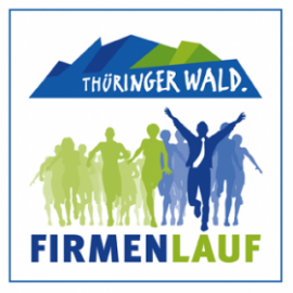 Teilnehmer beim Start des Thüringer Wald Firmenlaufs in Oberhof