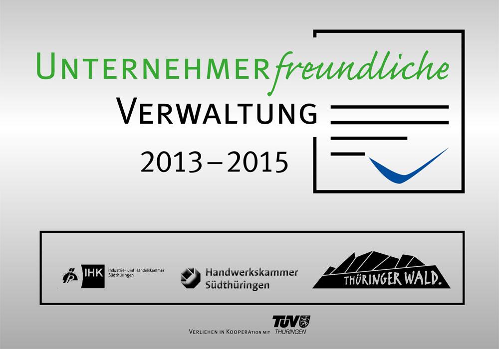 Unternehmerfreundliche Verwaltung im Thüringer Wald