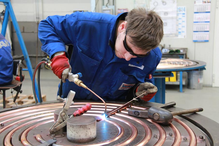 Hoch hinaus bei der WEGRA Anlagenbau GmbH Westenfeld