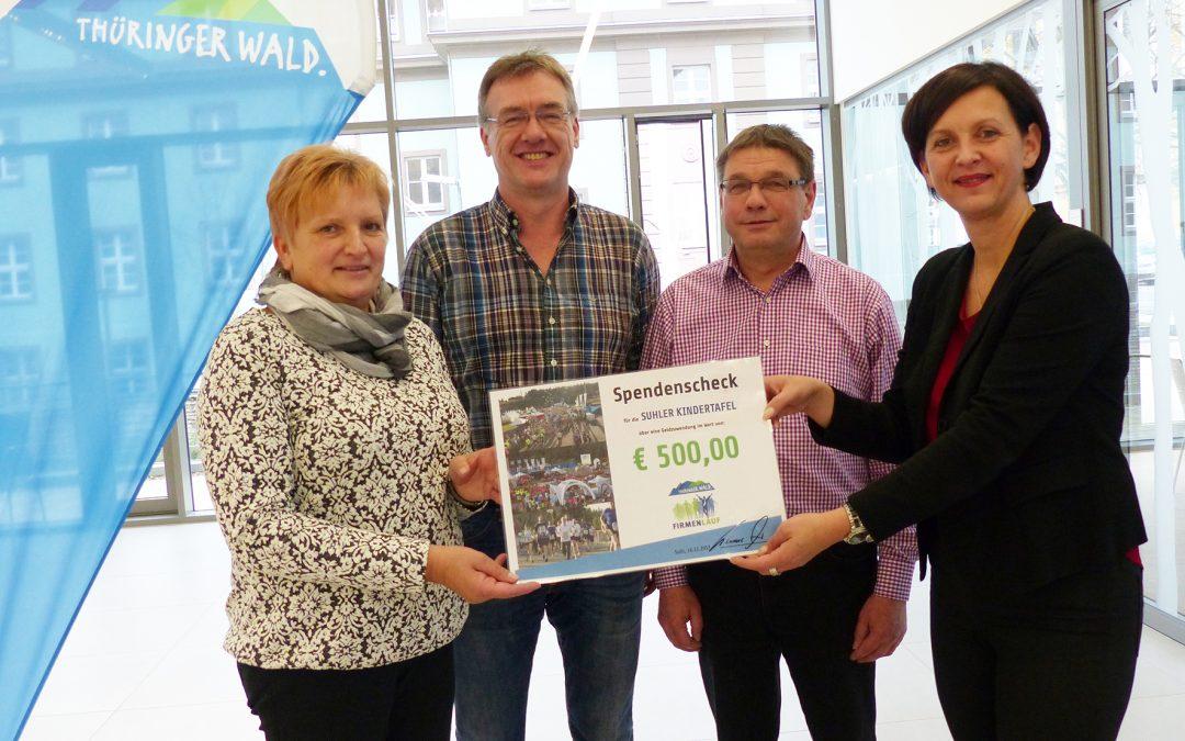 Thüringer Wald Firmenlauf hilft Kindern