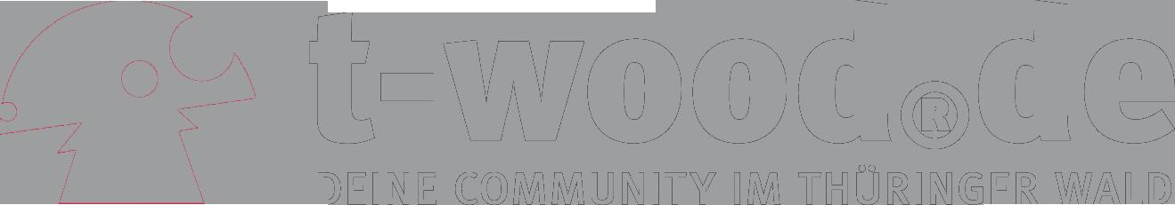 Logo t-wood.de Liebe deinen Wald - Zur Internetseite von t-wood - Deine Community im Thüringer Wald