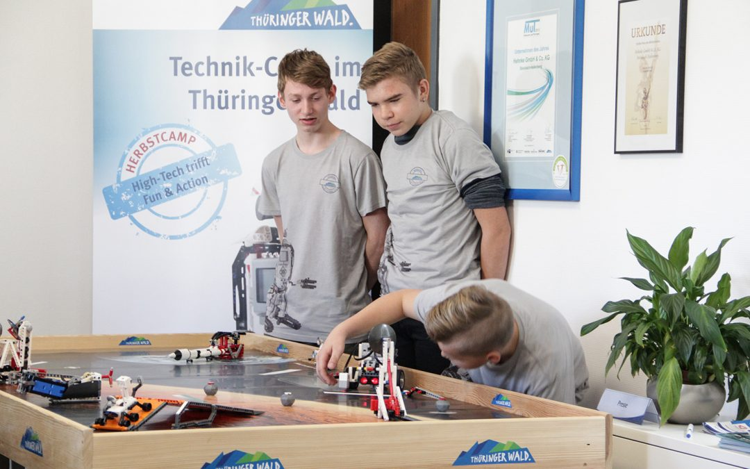 5. Technikcamp im Thüringer Wald