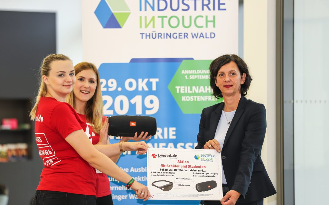Zu INDUSTRIE INTOUCH Thüringer Wald am 29. Oktober 2019 jetzt noch anmelden!