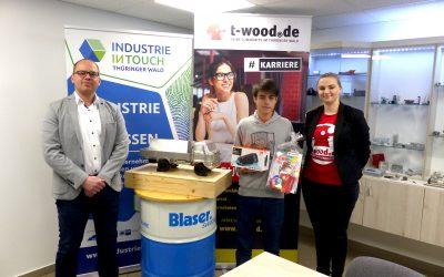 t-wood.de Aktion zu INDUSTRIE INTOUCH: Gewinner wird doppelt belohnt