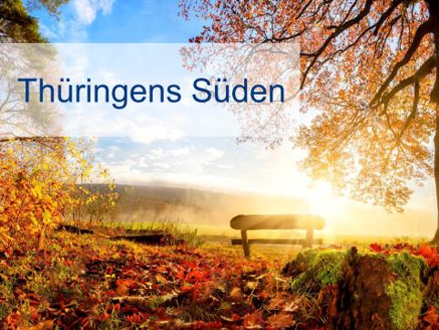 Ein Bild des Thüringer Südens, der sich Ziele für seine Regionalstrategie gesetzt hat