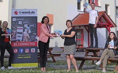 t-wood.de Schulplaner unterstützt Start in den Beruf