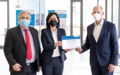 Thüringens Süden – Grünes Licht für Projekte Wirtschaftsminister Tiefensee übergibt Förderbescheid in Höhe von 900 000 Euro